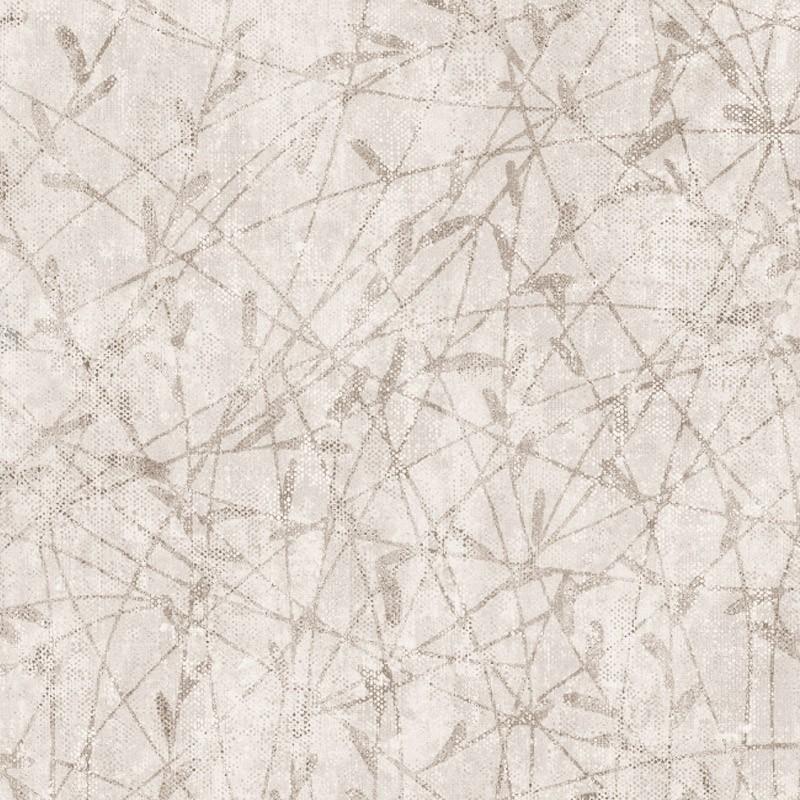 Carta da parati vinilica effetto tela con foglie astratte for Carta da parati adesiva effetto muro