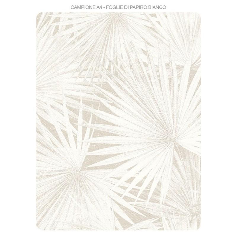 Carta Da Parati Bianca.Campioni Carta Da Parati E Pittura Coordinata Kit Papiro Bianco