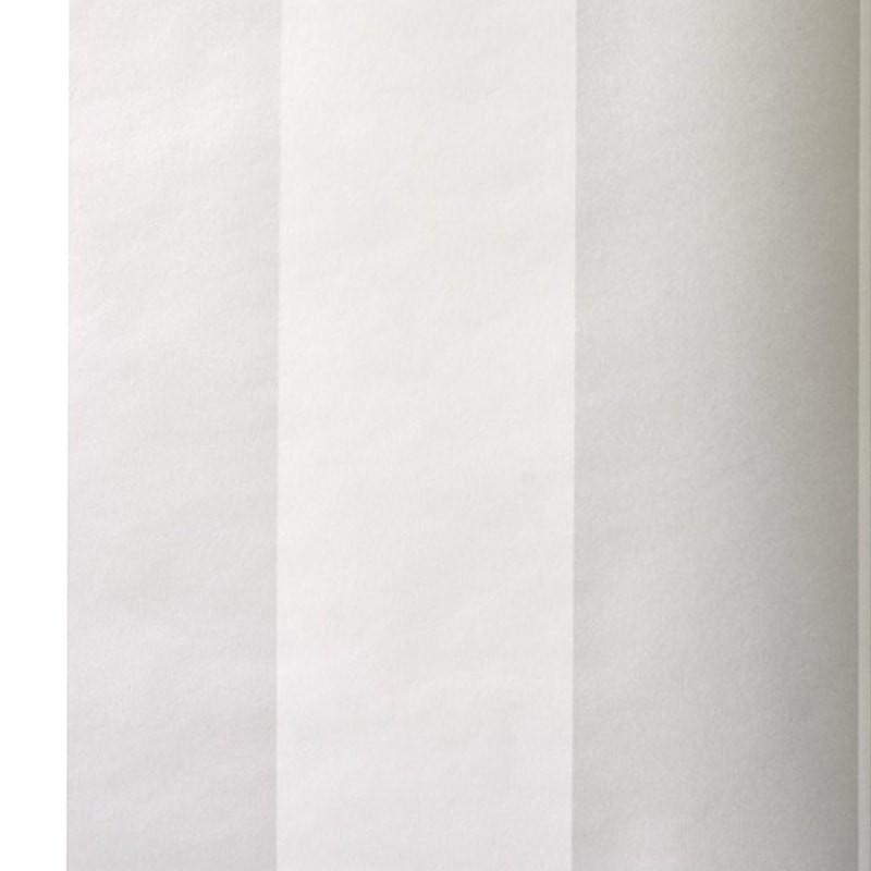 Carta da parati a righe argento e bianco for Carta parati argento